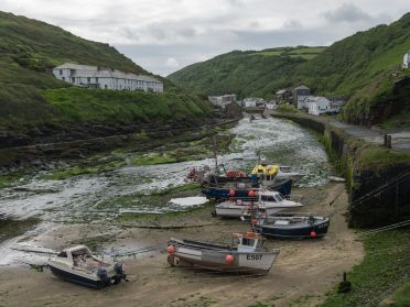 Boscastle Harbor