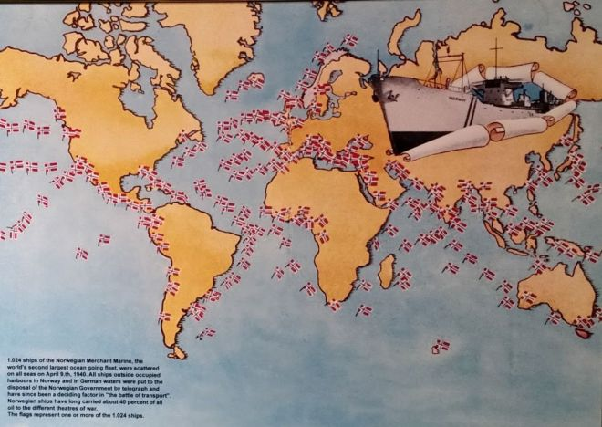 Map of Merchant Marines